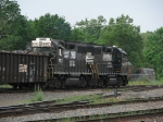 B23 heading into the yard